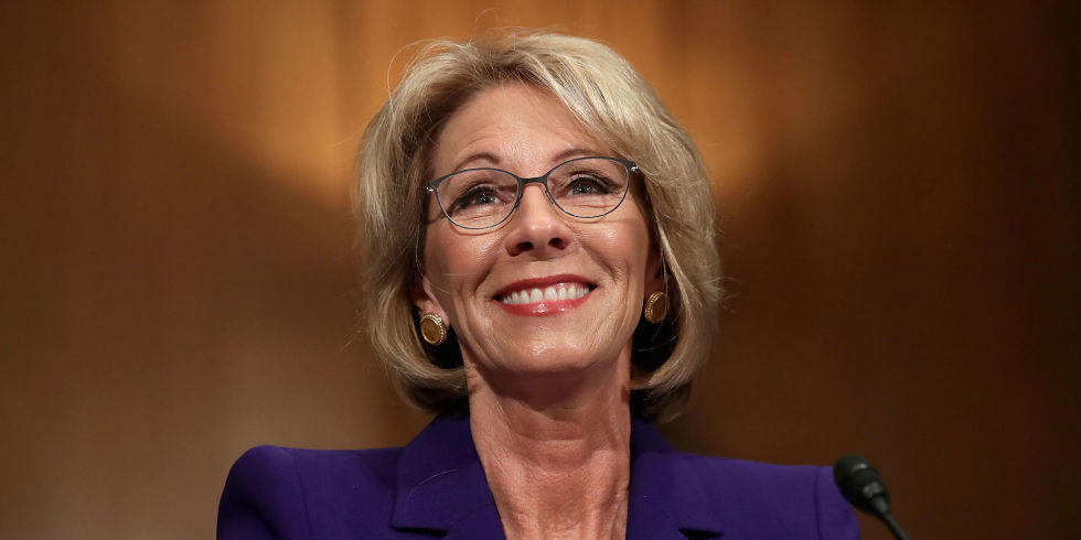 Devos Says Federal Idea Mandates Piled >> Heaven To Betsy Devos Take Your Money And Buy An Idea Because