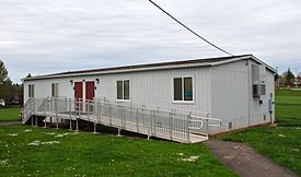 275px-Portable_classroom_building_at_Rock_Creek_Elementary_School_-_Washington_County,_Oregon