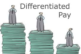 differentiated pay