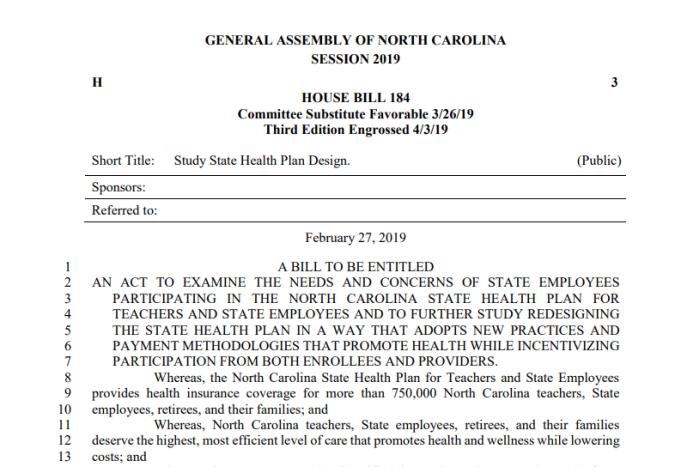 House Bill 184