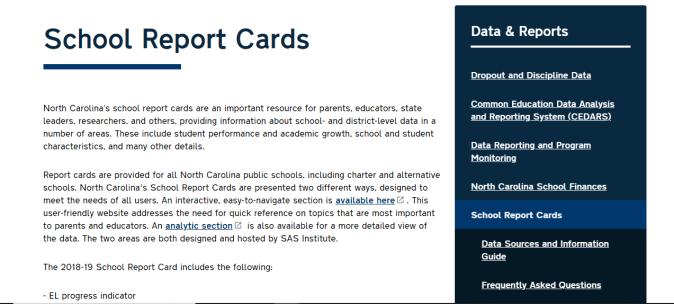 SASREportcard