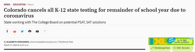 eliminate testing 3